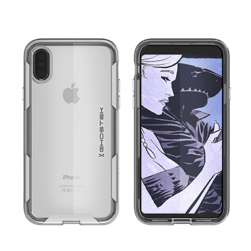 Ghostek Cloak 3 Case iPhone X/Xs zilver 03