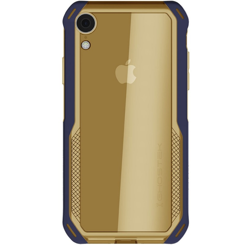 Ghostek Cloak 4 iPhone XR Hoesje Blauw/Goud - 2