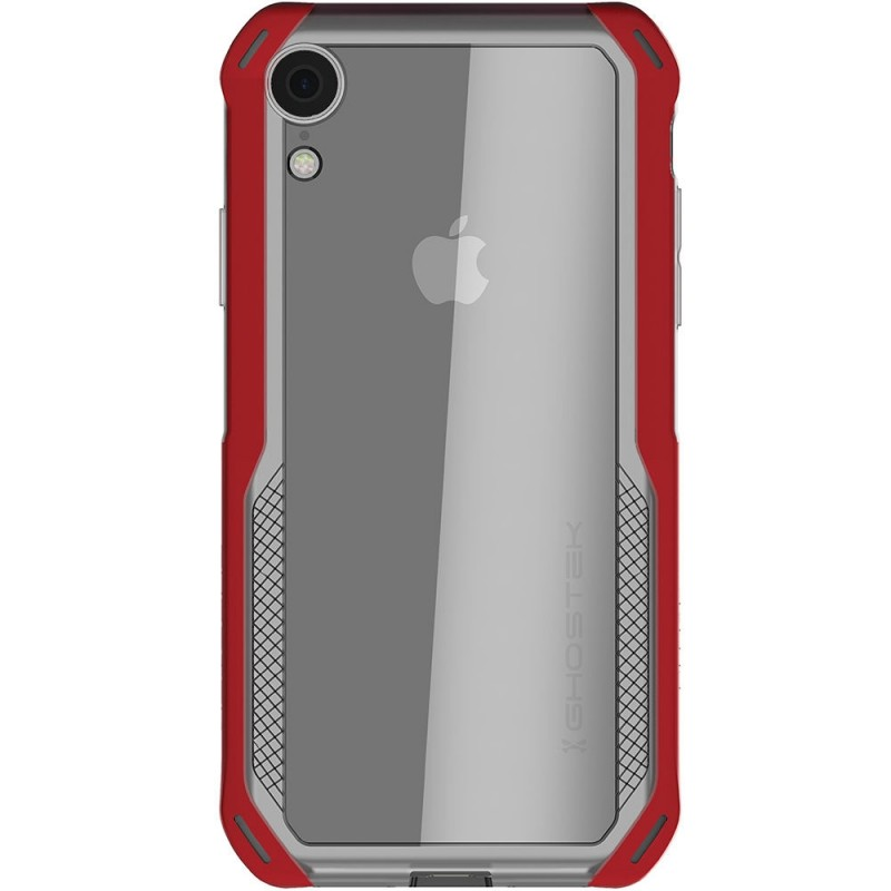Ghostek Cloak 4 iPhone XR Hoesje Rood/Transparant - 2