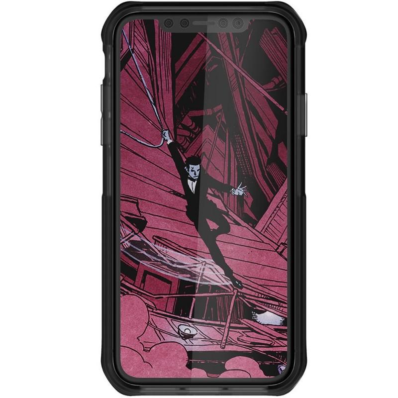 Ghostek Cloak 4 iPhone XR Hoesje Zwart/Transparant - 3