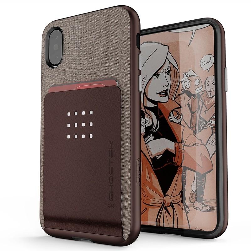 Ghostek Exec 2 Wallet Case iPhone X/Xs BRUIN 01