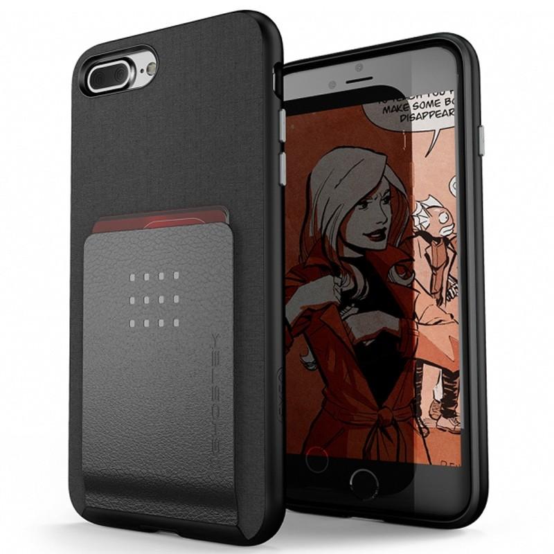 Ghostek Exec 2 Wallet Case iPhone 8 Plus/7 Plus Zwart 01