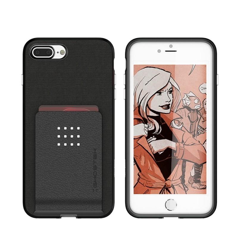 Ghostek Exec 2 Wallet Case iPhone 8 Plus/7 Plus Zwart 03