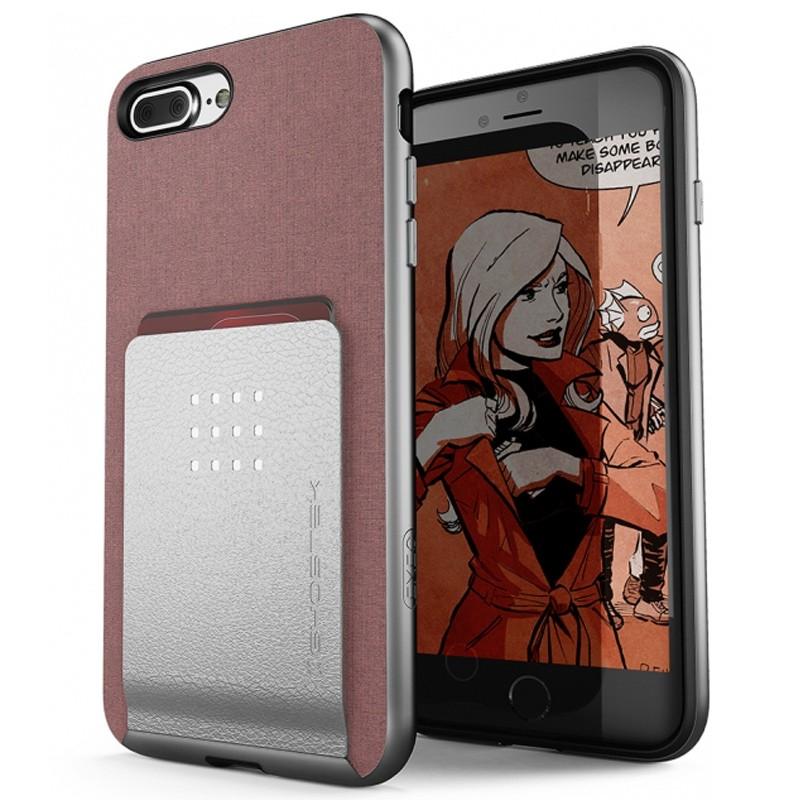 Ghostek Exec 2 Wallet Case iPhone 8 Plus/7 Plus Pink 01