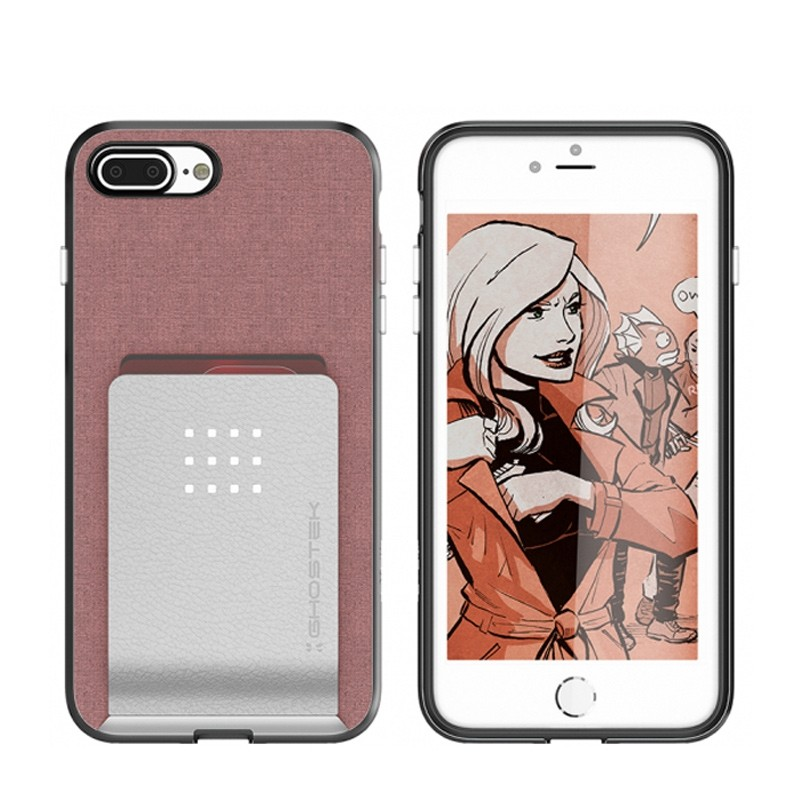 Ghostek Exec 2 Wallet Case iPhone 8 Plus/7 Plus Pink 03