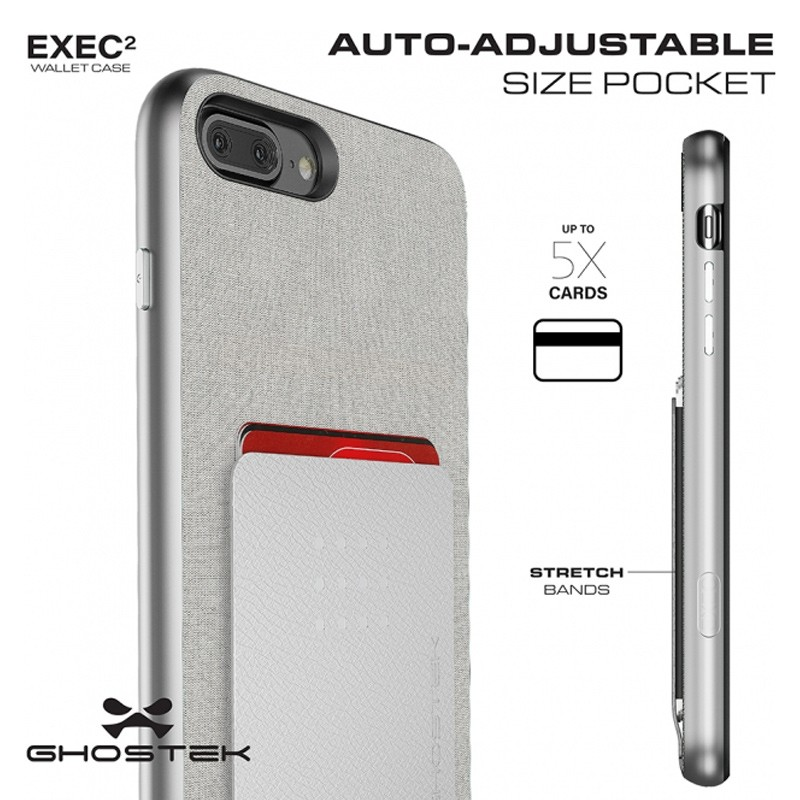 Ghostek Exec 2 Wallet Case iPhone 8 Plus/7 Plus Pink 07