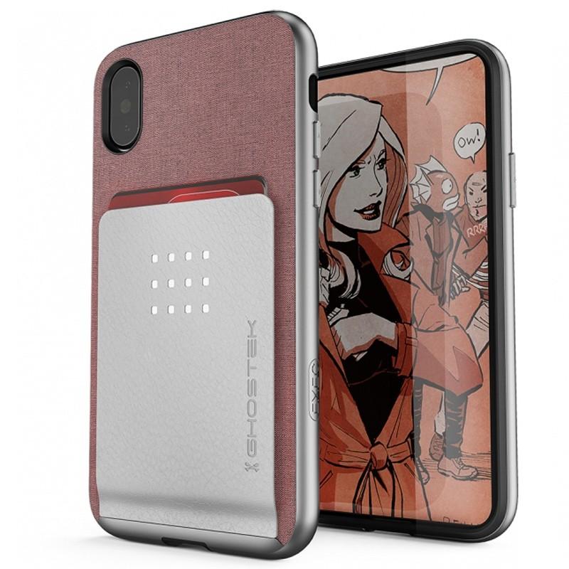 Ghostek Exec 2 Wallet Case iPhone X/Xs pink 01