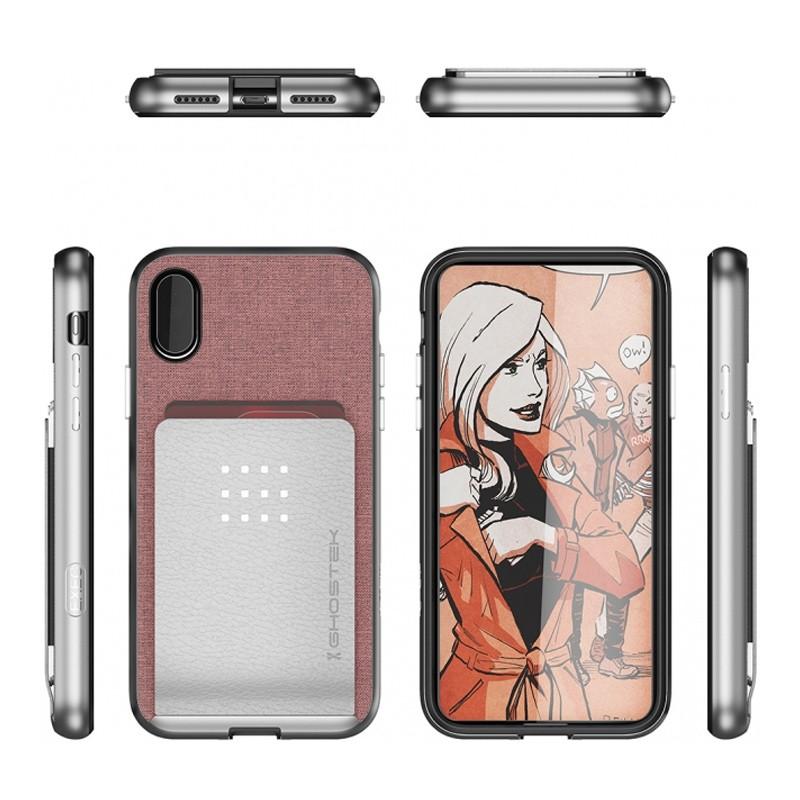 Ghostek Exec 2 Wallet Case iPhone X/Xs pink 02