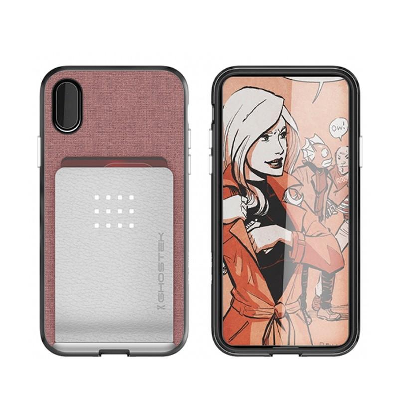 Ghostek Exec 2 Wallet Case iPhone X/Xs pink 03