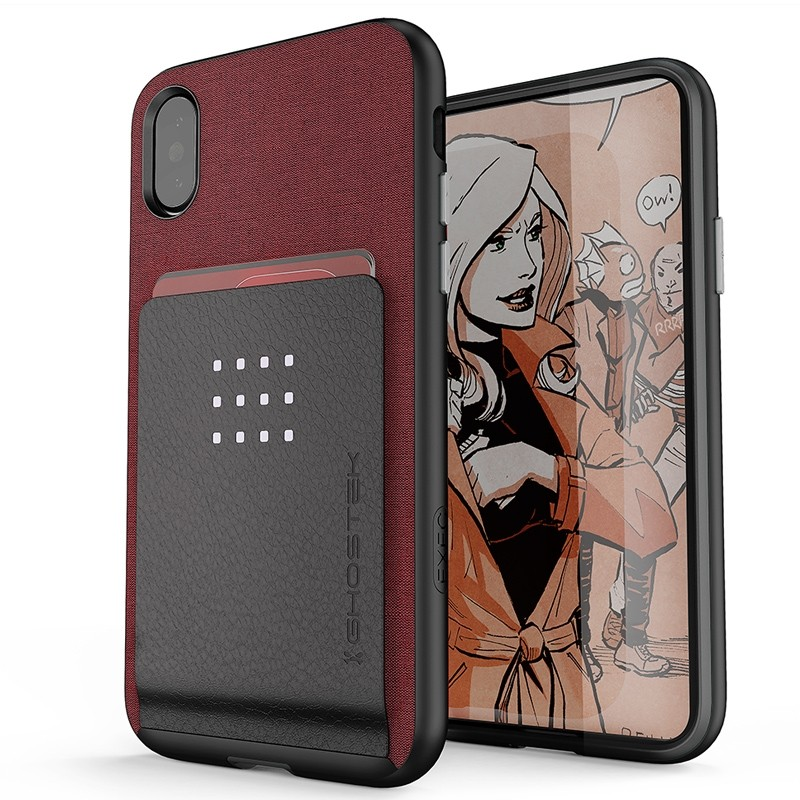 Ghostek Exec 2 Wallet Case iPhone X/Xs ROOD 01
