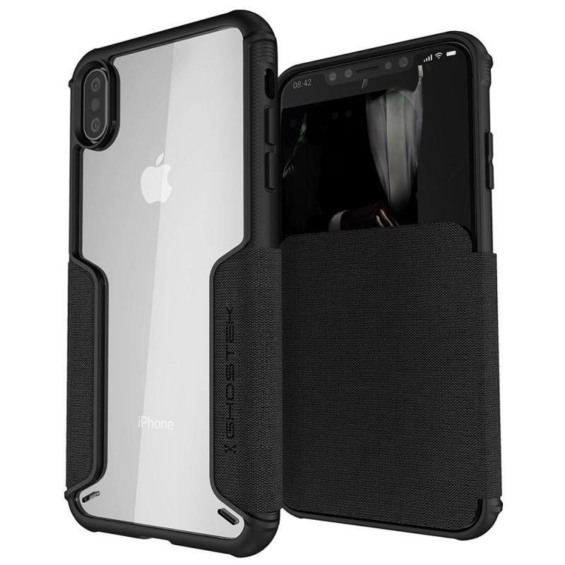 Ghostek Exec 3 Wallet iPhone XS Max Zwart - 1