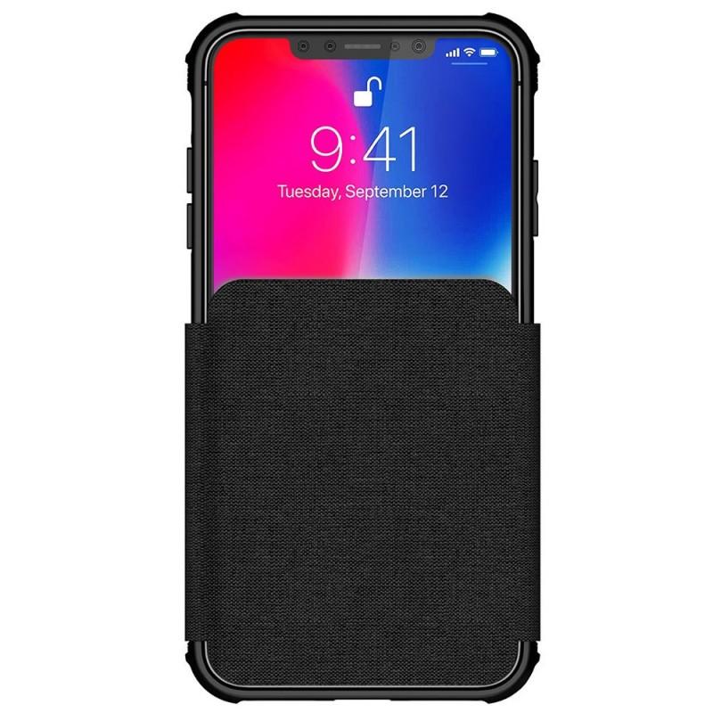 Ghostek Exec 3 Wallet iPhone XS Max Zwart - 2