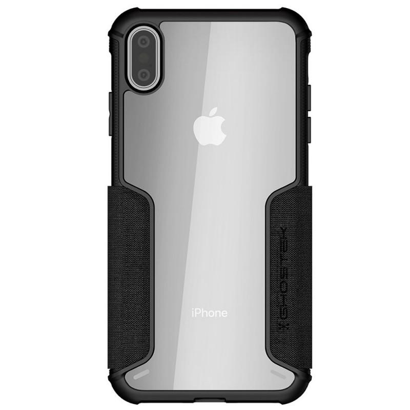 Ghostek Exec 3 Wallet iPhone XS Max Zwart - 3