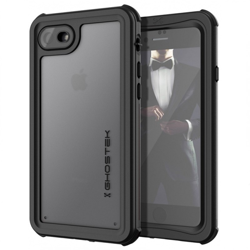 Ghostek - Nautical v2 Waterdicht iPhone 8/7 hoesje Zwart 01