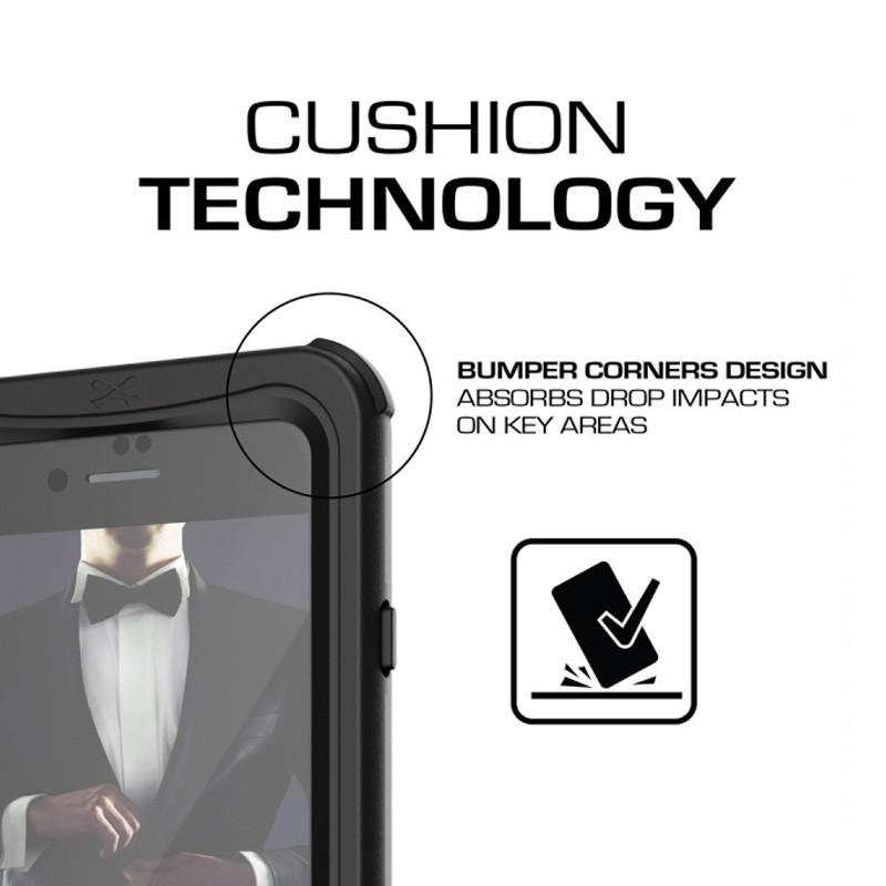 Ghostek - Nautical v2 Waterdicht iPhone 8/7 hoesje Zwart 05