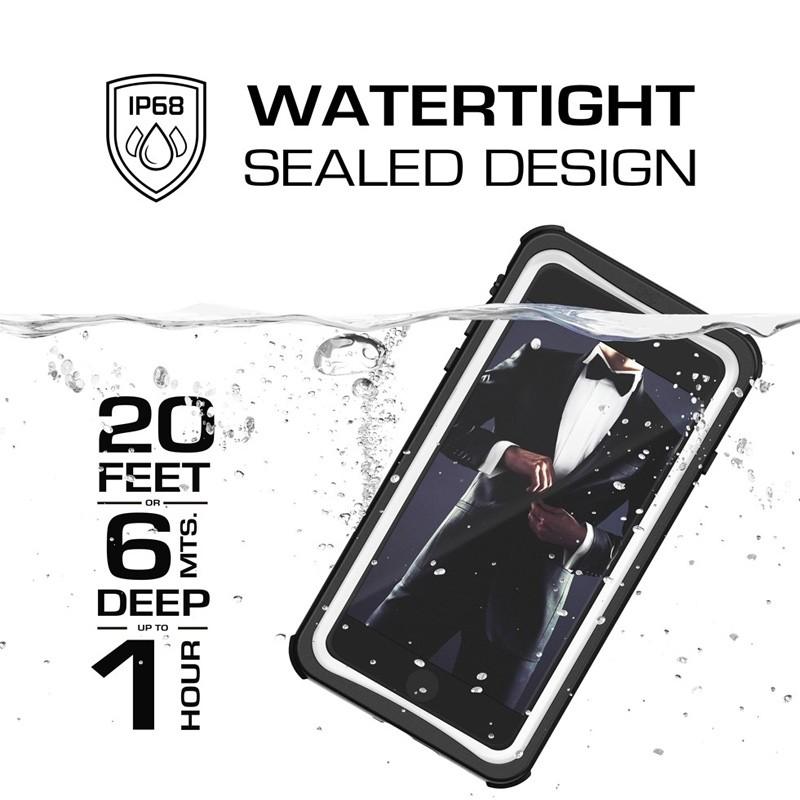 Ghostek Nautical v2 Waterdicht iPhone 8 Plus/7 Plus hoesje Wit 09