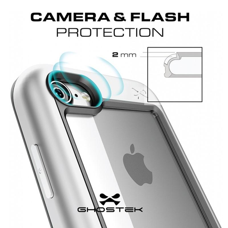 Ghostek Atomic Slim Rugged Case iPhone 8/7 zwart / transparant 05