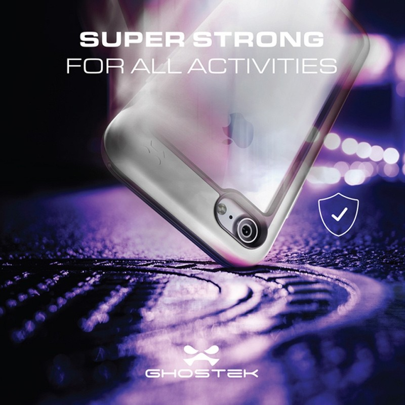Ghostek Atomic Slim Rugged Case iPhone 8/7 zwart / transparant 07