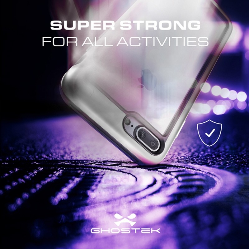 Ghostek - Atomic Slim Case iPhone 8 Plus/7 Plus zilver 07