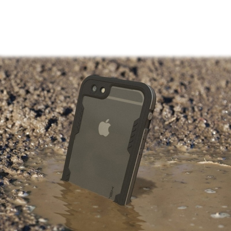 Ghostek - Atomic 2.0 Waterdicht iPhone 6/6S Plus hoesje Space Gray 06