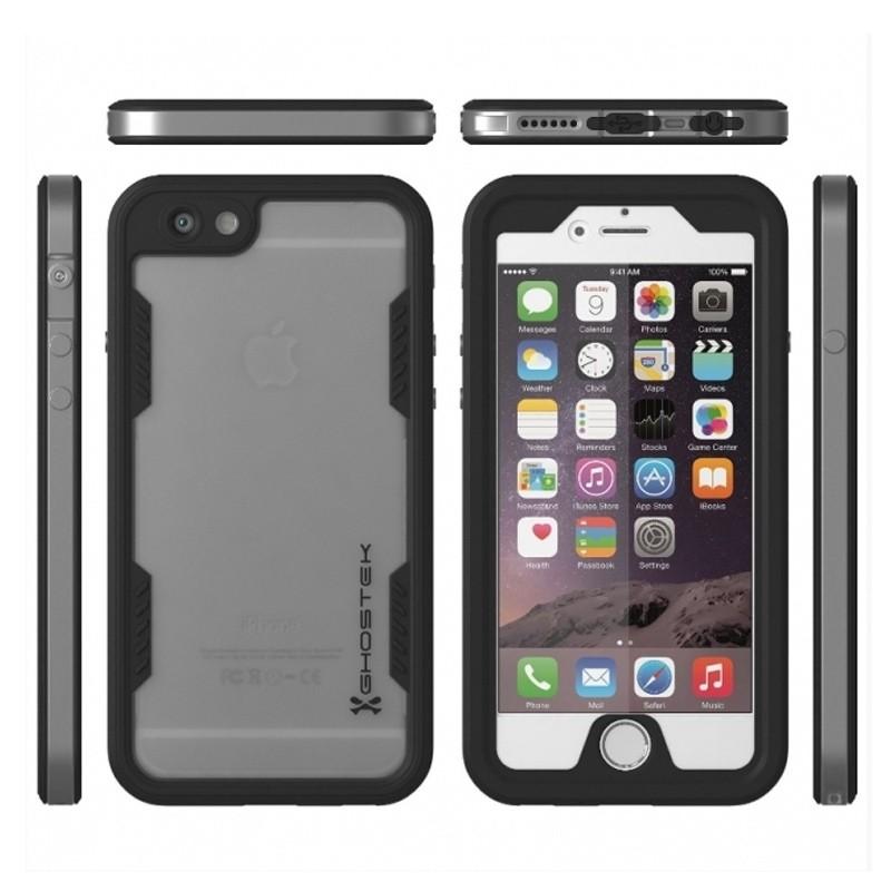 Ghostek - Atomic 2.0 Waterdicht iPhone 6/6S hoesje Silver 03