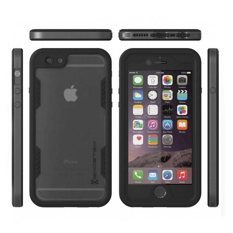 Ghostek - Atomic 2.0 Waterdicht iPhone 6/6S hoesje Space Gray 03