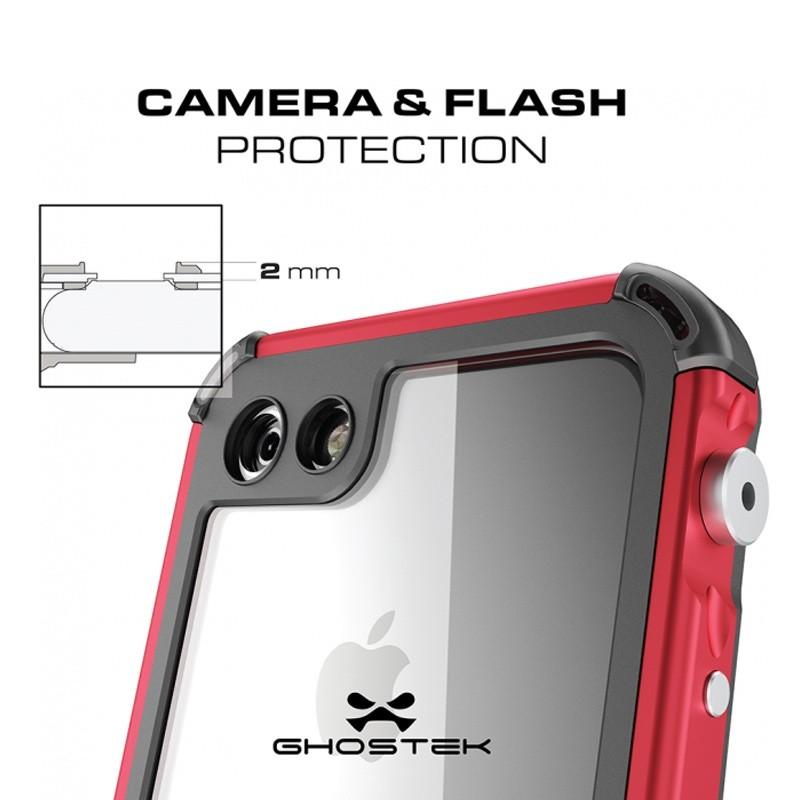 Ghostek - Atomic 3 Waterdicht iPhone 7 hoesje Silver 06