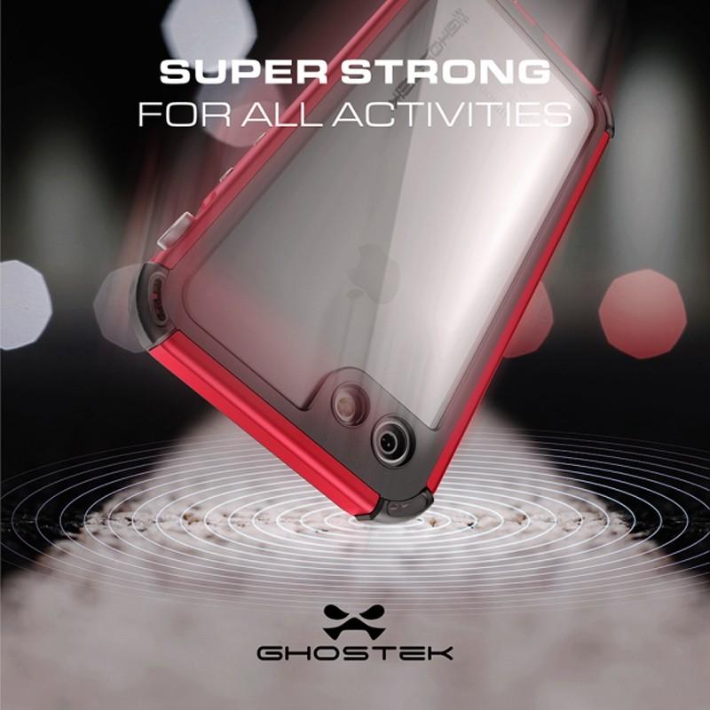 Ghostek - Atomic 3 Waterdicht iPhone 7 hoesje Silver 09
