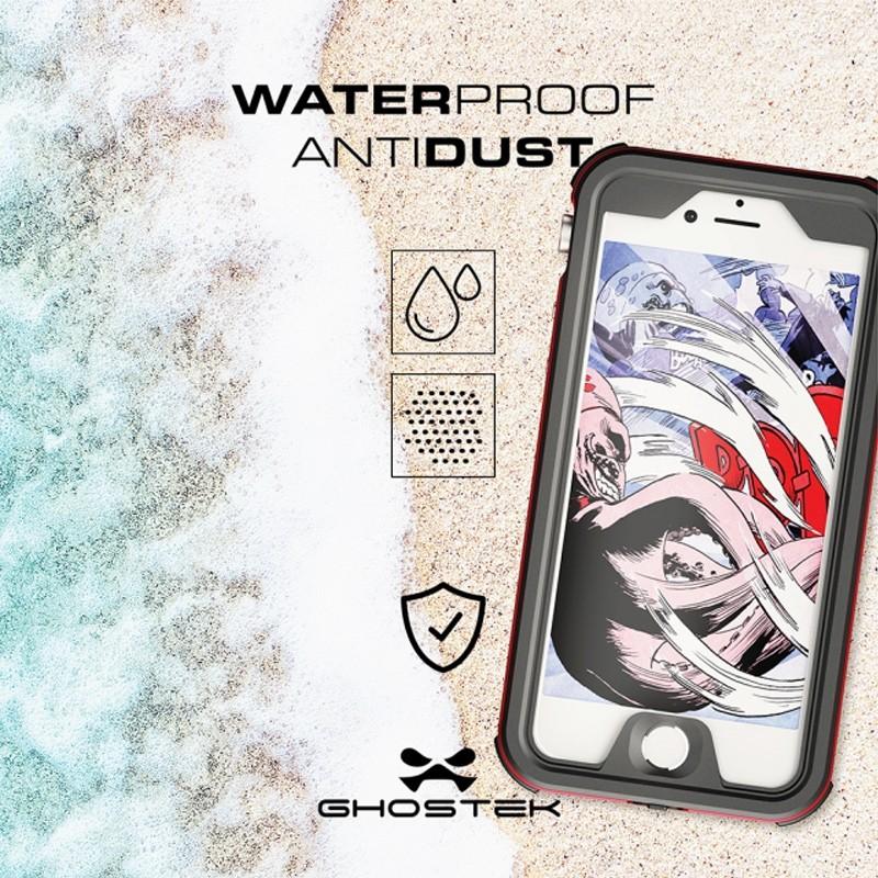 Ghostek - Atomic 3 Waterdicht iPhone 7 hoesje Silver 10