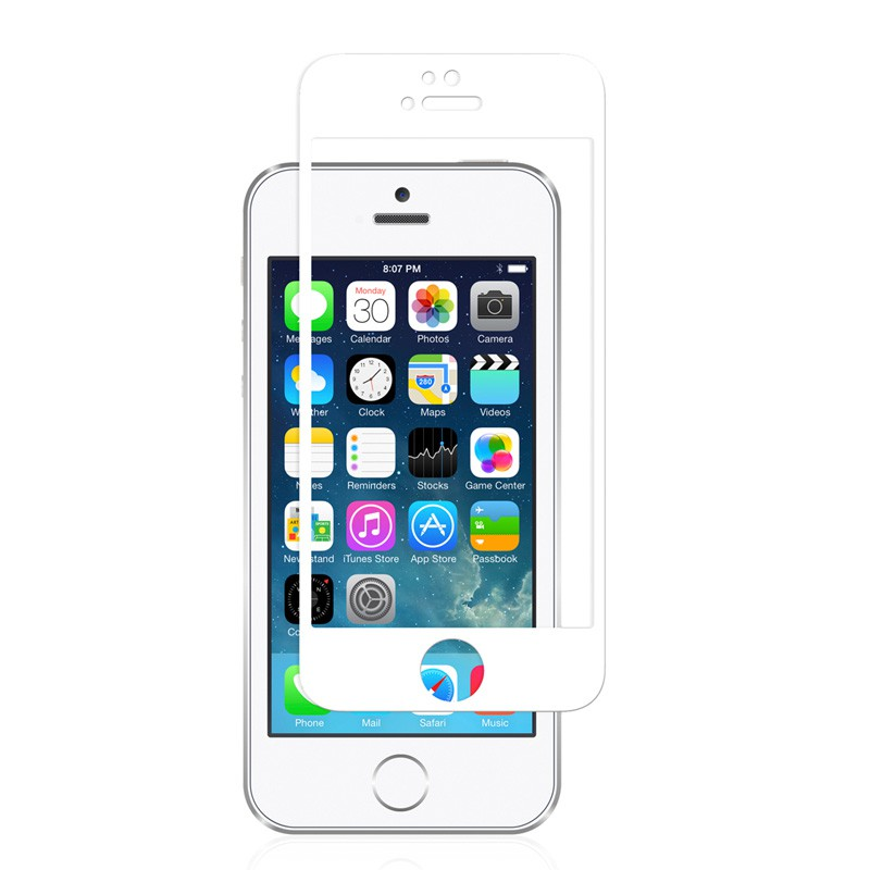 Moshi iVisor Glass iPhone 5/5S/5C White - 1