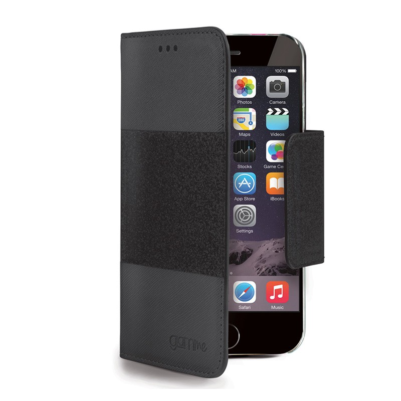 Celly Glitter Agenda iPhone 6 Plus Black - 1