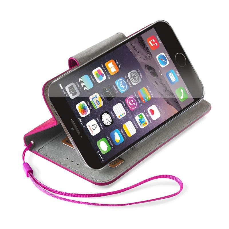 Celly Glitter Agenda iPhone 6 Fuchsia - 2
