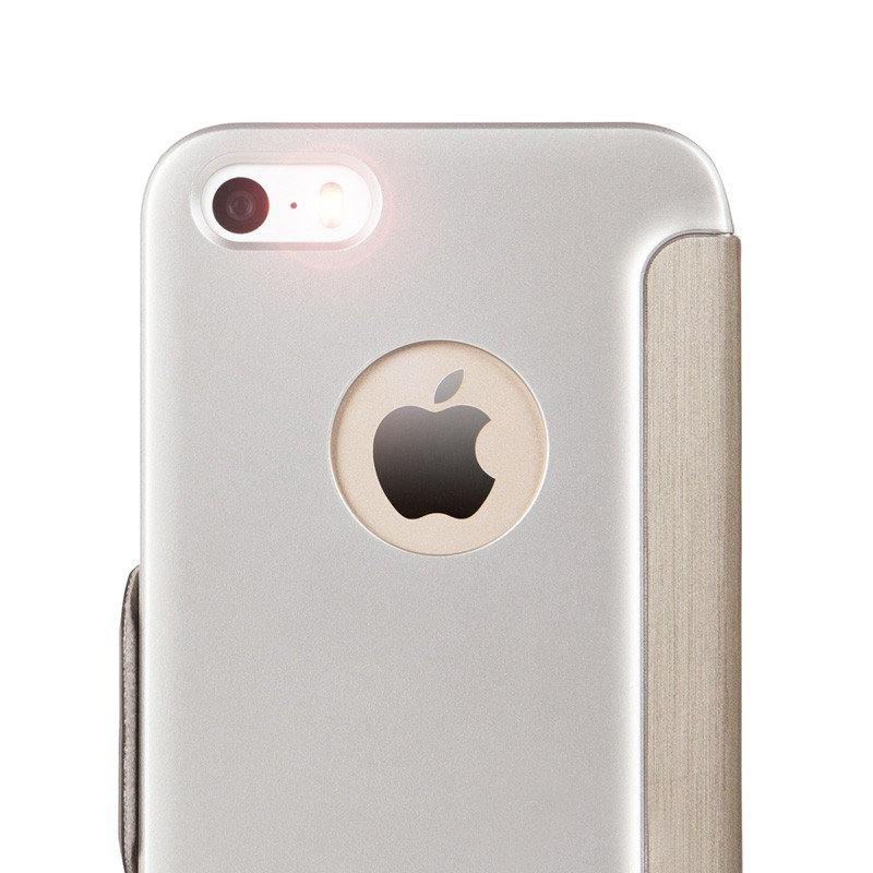 Moshi SenseCover iPhone 5/5S Gold - 4