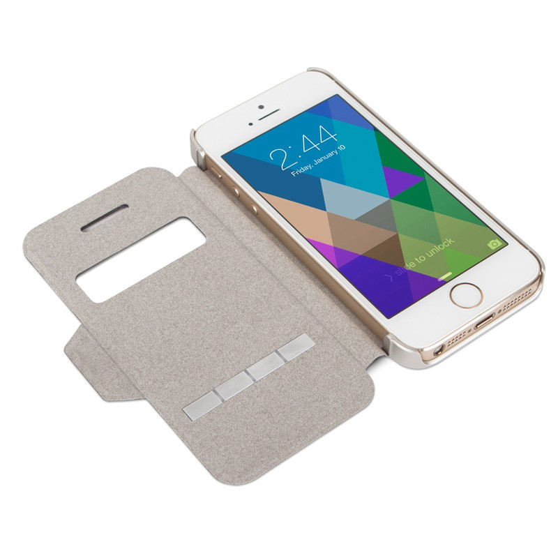 Moshi SenseCover iPhone 5/5S Gold - 6