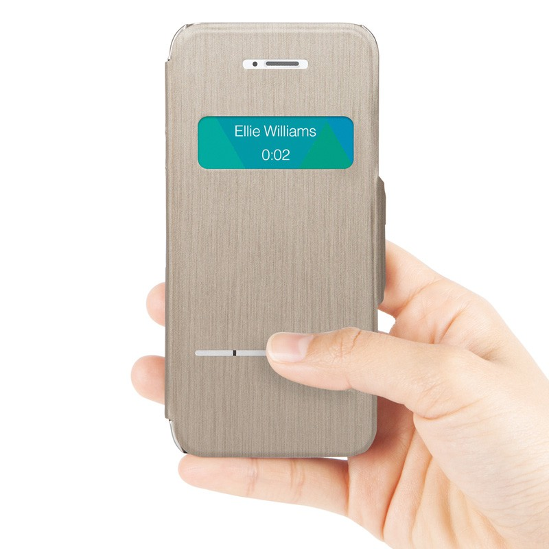 Moshi SenseCover iPhone 5/5S Gold - 8