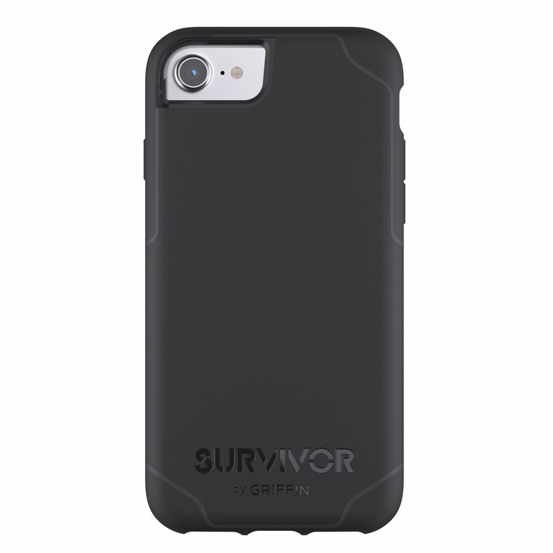 Griffin Survivor Journey iPhone 7 Black/Grey 01