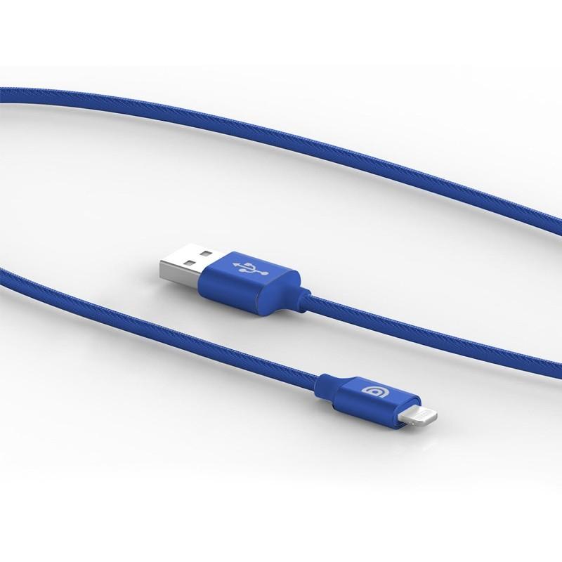 Griffin Premium USB to Lightning Kabel 1,5 meter Blauw 04