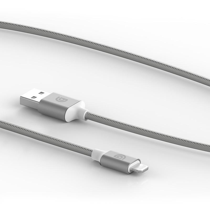 Griffin - Premium USB to Lightning Kabel 1,5 meter Silver 02