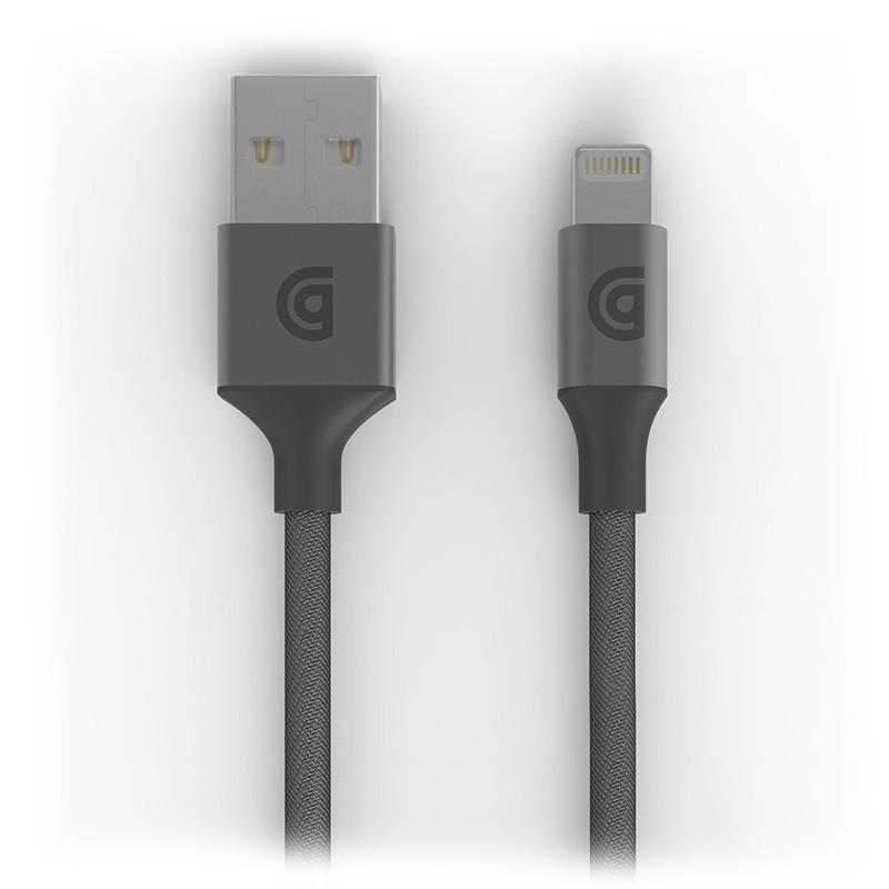 Griffin - Premium USB to Lightning Kabel 1,5 meter Space Gray 01