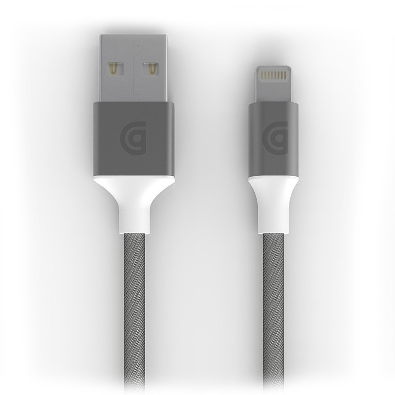 Griffin - Premium USB to Lightning Kabel 3 meter Silver 01