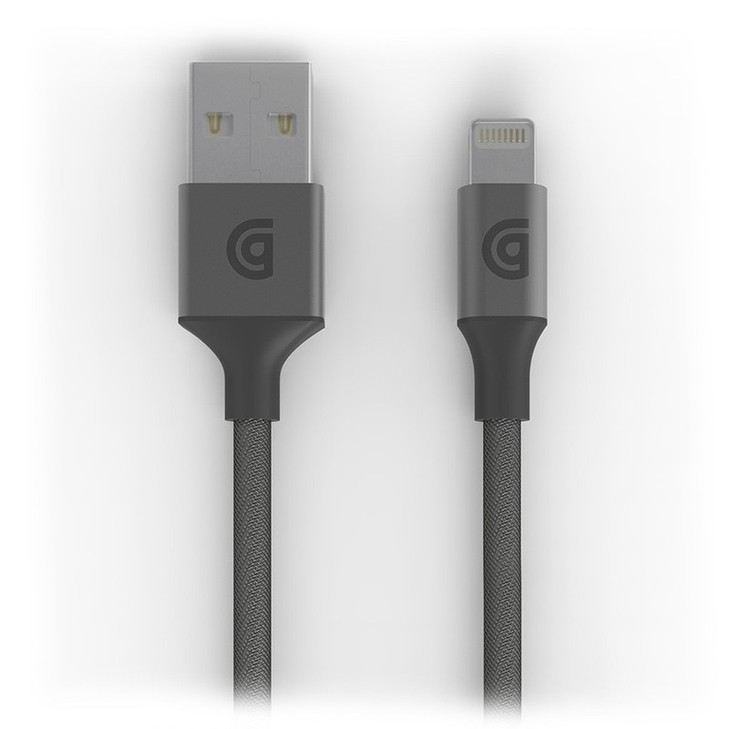 Griffin - Premium USB to Lightning Kabel 3 meter Space Grey 01