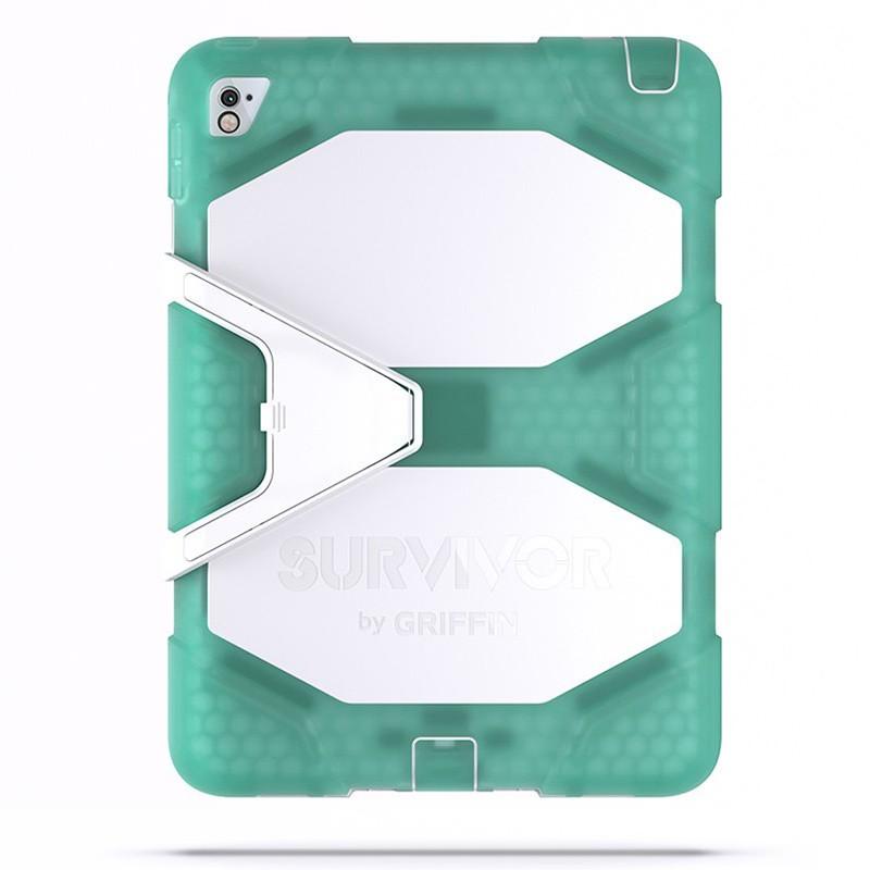 Griffin Survivor All Terrain Case iPad Pro 9.7 Chromium/White 07
