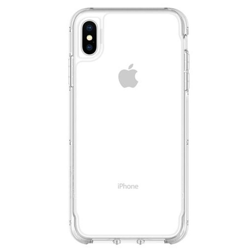 Griffin Survivor Clear iPhone XS Max Case Transparant 01