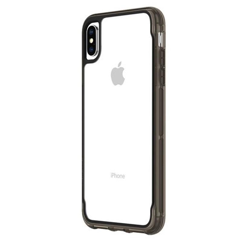 Griffin Survivor Clear iPhone XS Max Hoes Zwart Transparant 03