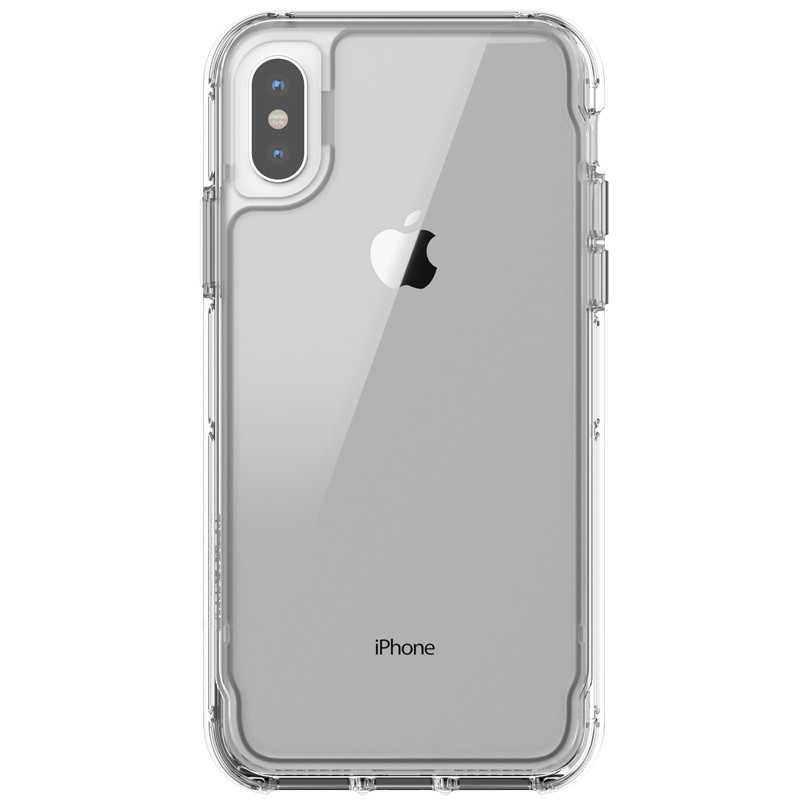 Griffin - Survivor Clear iPhone X/Xs Hoesje Transparant 02