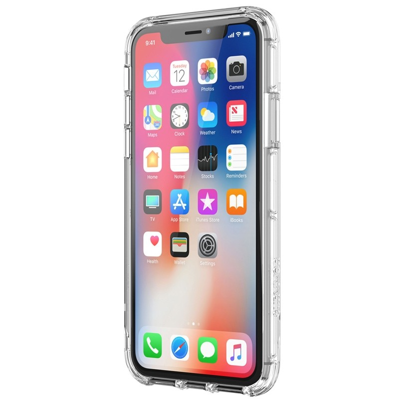 Griffin - Survivor Clear iPhone X Hoesje Transparant 04