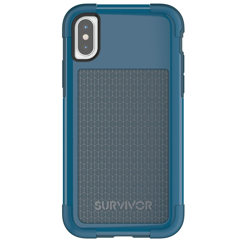 Griffin - Survivor Fit iPhone X/Xs Case Blauw 02