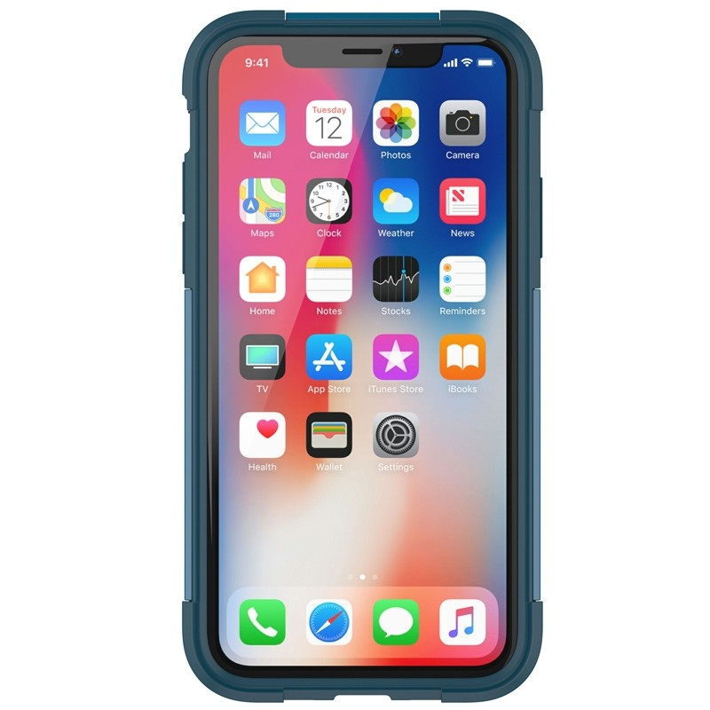 Griffin - Survivor Fit iPhone X/Xs Case Blauw 05