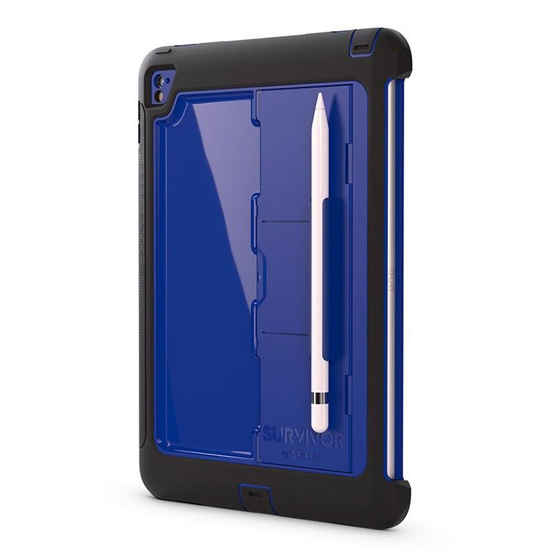 Griffin - Survivor Slim Case iPad Pro 9,7 inch blue 01