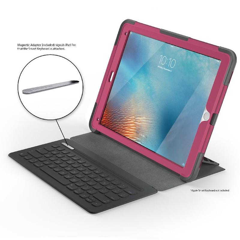 Griffin Survivor Slim Case iPad Pro 12.9 Pink 06